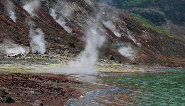 Rauch Wall Art - Photograph - Taal Volcano Crater Lake, Tagaytay by Per-Andre Hoffmann