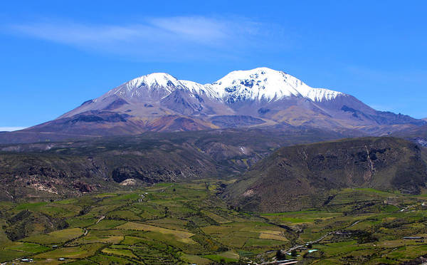 Arica Photograph - Taapaca Volcano Chile by Kurt Van Wagner