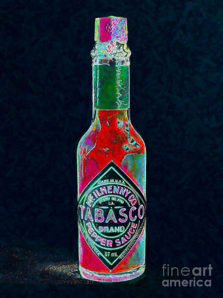 Wall Art - Photograph - Tabasco Sauce 20130402 by Wingsdomain Art and Photography