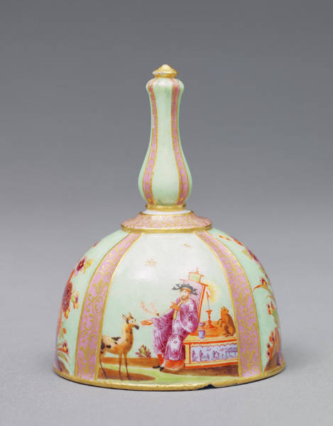 Wall Art - Painting - Table Bell Painting Attributed To Studio Of Johann Gregor by Litz Collection