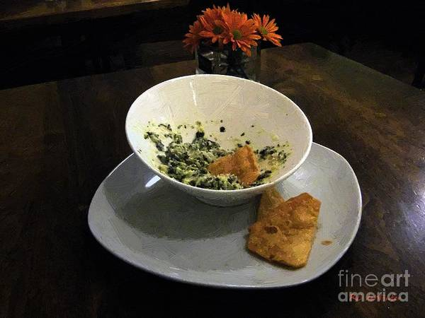 Painting - Table For One by RC DeWinter