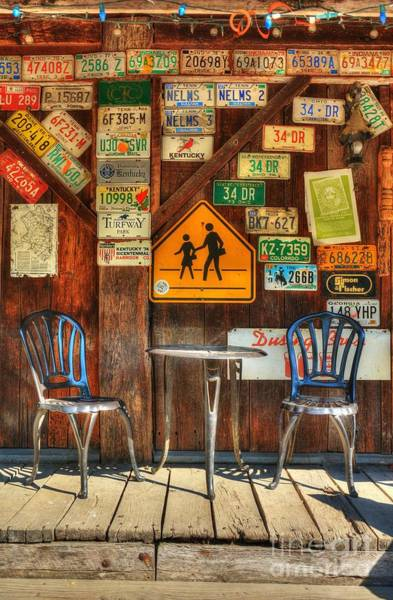 Photograph - Table For Two by Mel Steinhauer