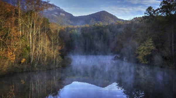 Photograph - Table Rock Foggy Morning by David Waldrop