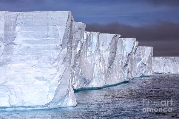 Photograph - Tabular Iceberg by Kate McKenna