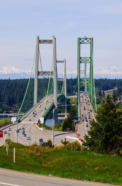 Nikon D5000 Photograph - Tacoma Narrows Bridge by Tikvah's Hope