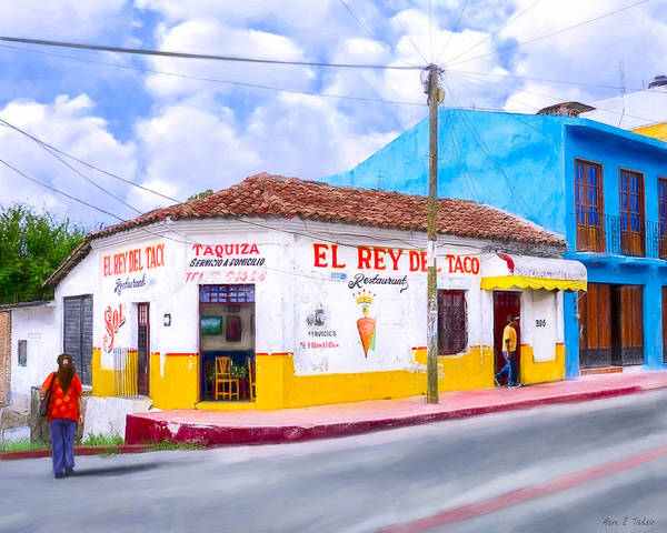 Wall Art - Photograph - Tacos For Lunch In Chiapas by Mark Tisdale