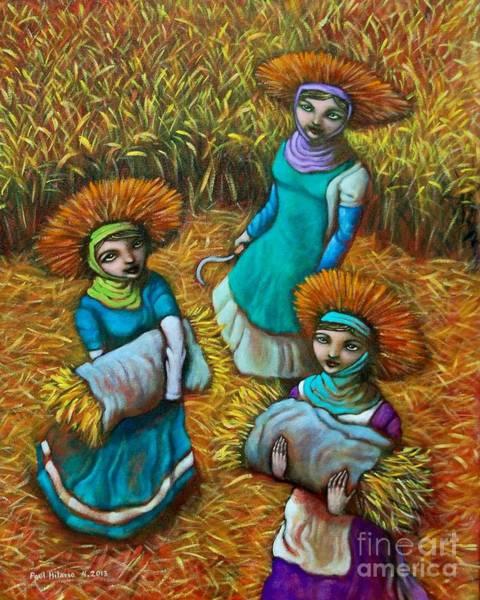 Wall Art - Painting - Tag-araw Sa Tag-ulan by Paul Hilario