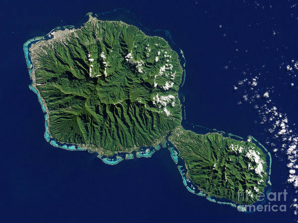 Photograph - Tahiti by Science Source