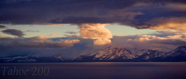 Photograph - Tahoe 200 Sunset by Martin  Gollery