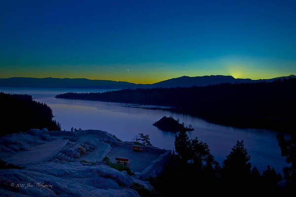 Photograph - Tahoe Sunrise by Jim Thompson