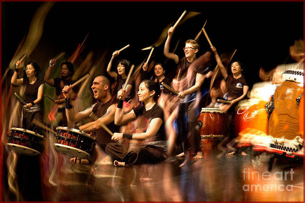 Photograph - Taiko Flow by Michael Arend