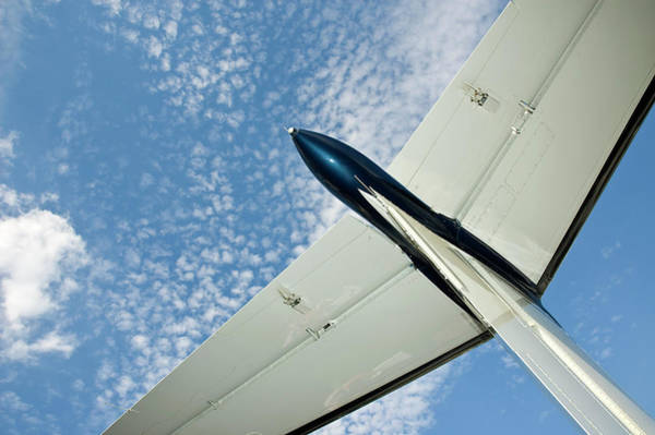 Photograph - Tail Of The Airplane by Carolyn Marshall