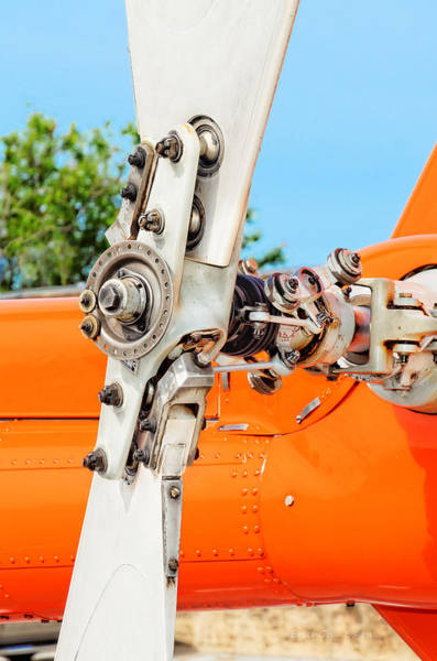 Photograph - Tail Rotor by Erich Grant