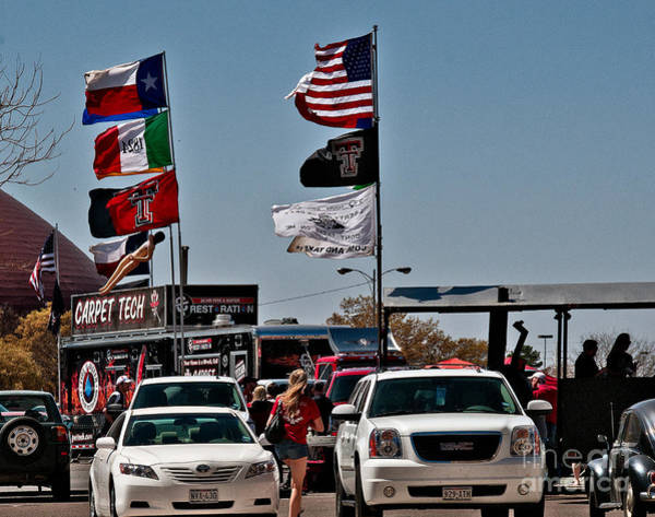 Photograph - Tailgating Texas Tech by Mae Wertz