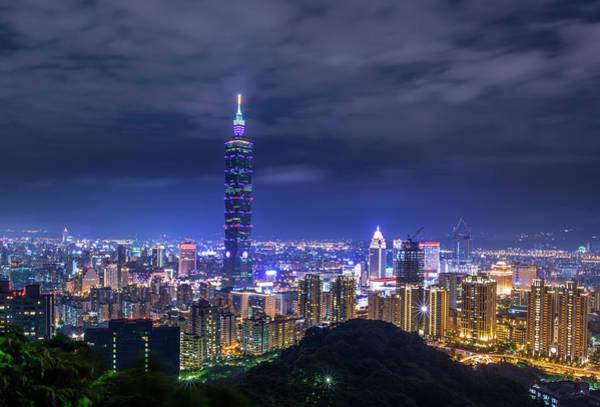 Taiwan Photograph - Taipei 101 by Taipei, Taiwan  By  Balmung