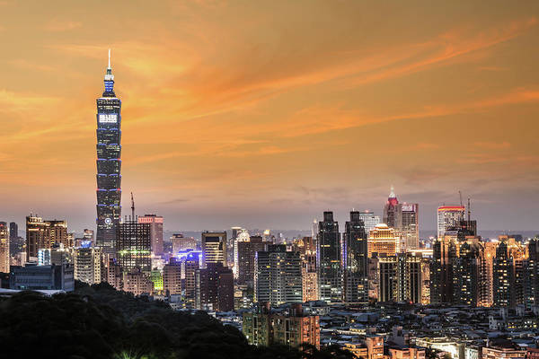 Fire Place Photograph - Taipei 101 by Vii-photo