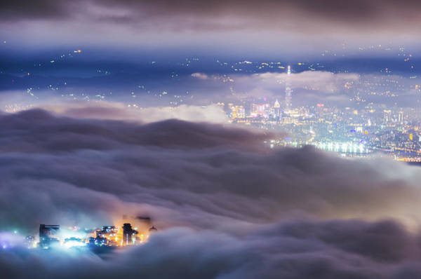 Taiwan Photograph - Taipei by Taipei, Taiwan  By  Balmung