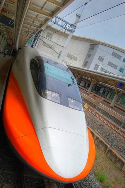 Taiwan Bullet Train Art Print