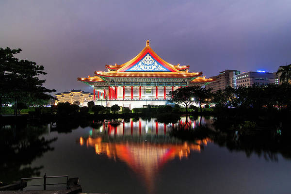 Concert Hall Photograph - Taiwan National Concert Hall by Cheng-lun Chung