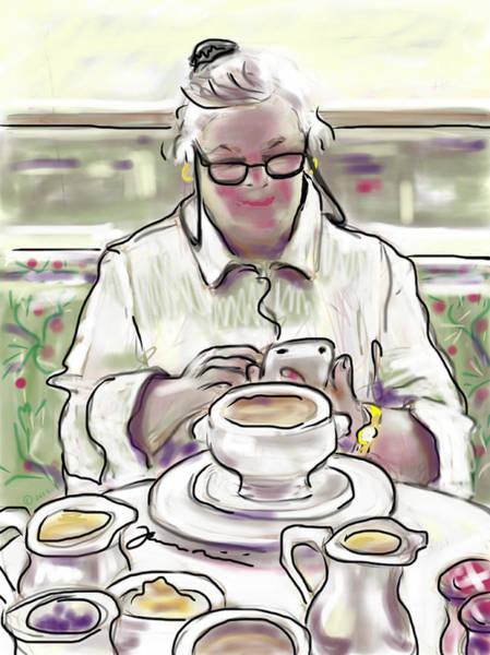 Painting - Taj Breakfast by Jean Pacheco Ravinski