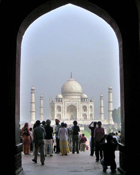 Bemis Photograph - Taj Mahal 2 - Agra India by Kim Bemis