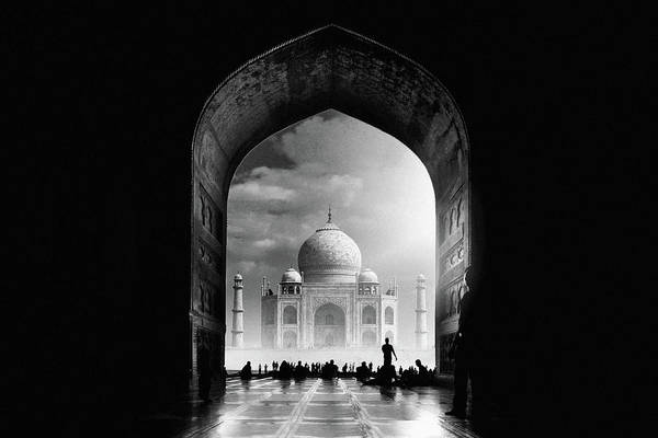Wall Art - Photograph - Taj Mahal by Hussain Buhligaha