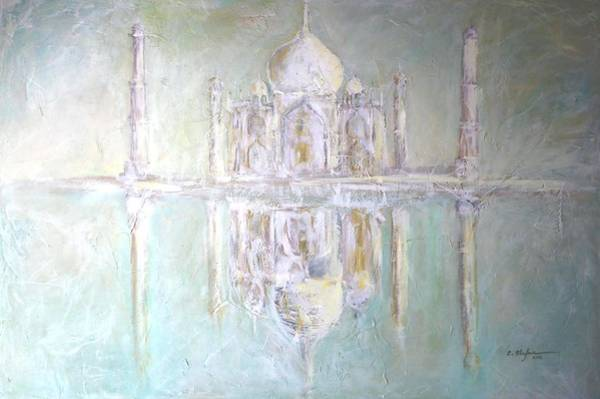 Painting - Taj Mahal - Hymn To Love by Cristina Stefan