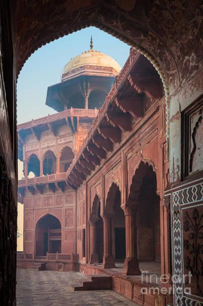 Photograph - Taj Mahal Jawab by Inge Johnsson