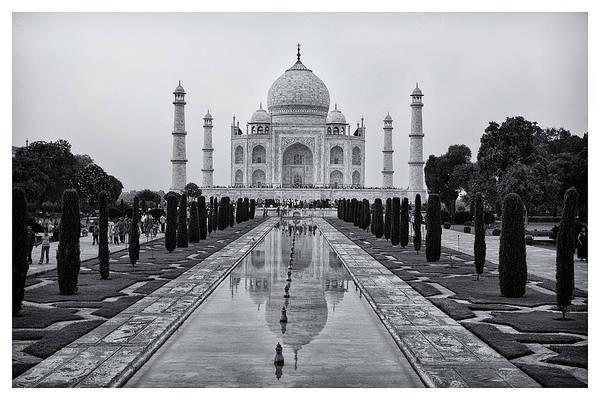 Photograph - Taj Mahal by Kim Andelkovic
