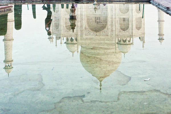 The Philippines Wall Art - Photograph - Taj Mahal Reflection by Photography By Jeremy Villasis. Philippines.