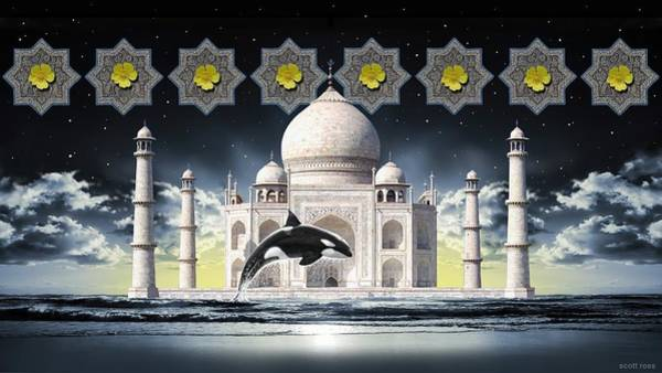 Digital Art - Taj by Scott Ross