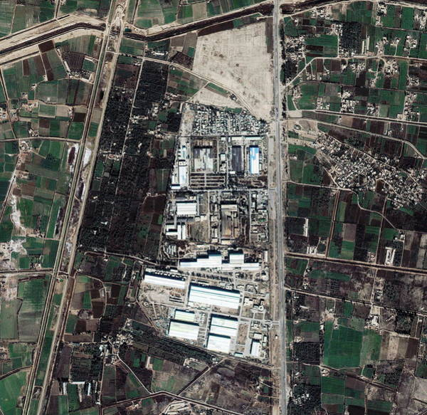 Facilities Photograph - Taji Missile Facility by Geoeye/science Photo Library