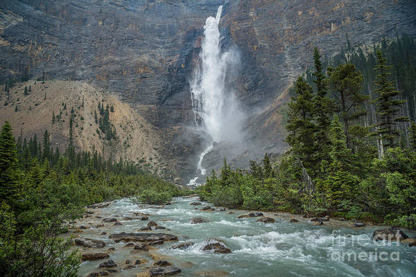 Photograph - Takakkaw Falls by Carrie Cole