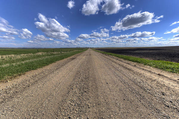 Gravel Road Photograph - Take A Back Road by Aaron J Groen