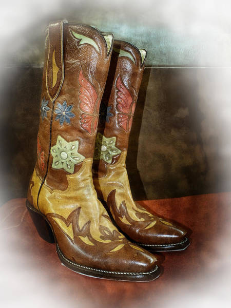 Photograph - Take A Walk In My Boots by Lucinda Walter