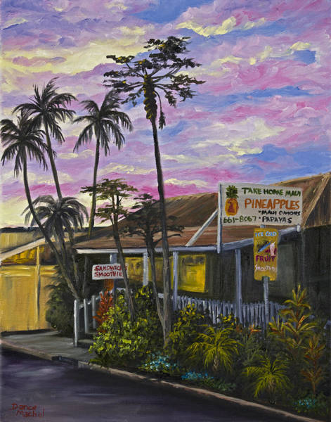 Maui Sunset Wall Art - Painting - Take Home Maui by Darice Machel McGuire