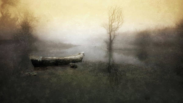 Painterly Photograph - Take Me Down To My Boat In The River by Charlaine Gerber