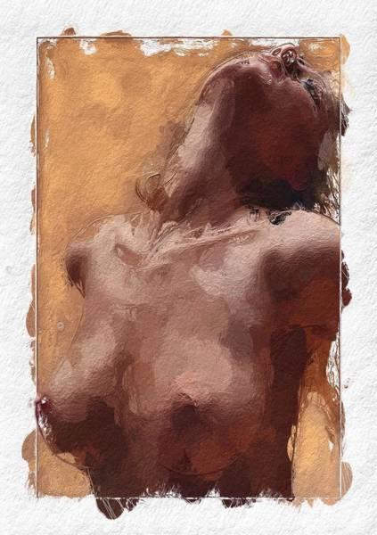 Lingery Wall Art - Painting - Take Me by Steve K