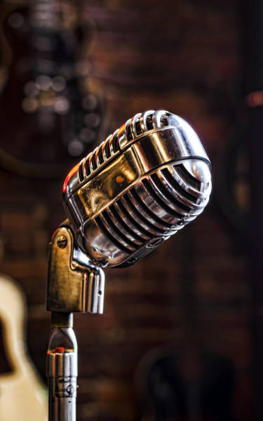 Photograph - Take The Mic by Heather Applegate