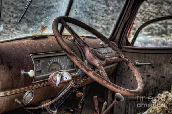 Photograph - Take The Wheel by Eddie Yerkish