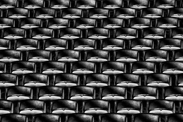 Seat Photograph - Take Your Seats Please! by Hans-wolfgang Hawerkamp
