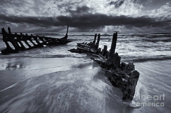 Wall Art - Photograph - Taken By The Sea by Mike  Dawson