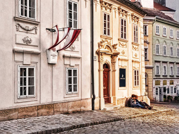 Photograph - Taking A Break In Old Vienna by Menega Sabidussi