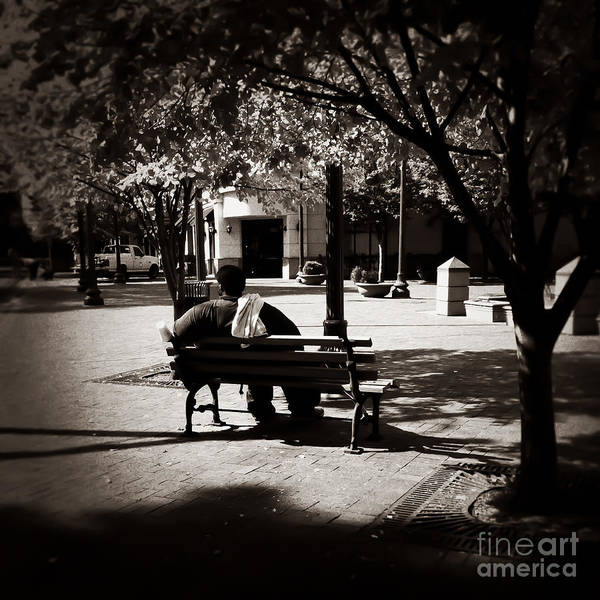 Photograph - Taking A Break Memphis Tennessee by T Lowry Wilson