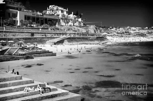 Photograph - Taking The Sun In Cascais by John Rizzuto