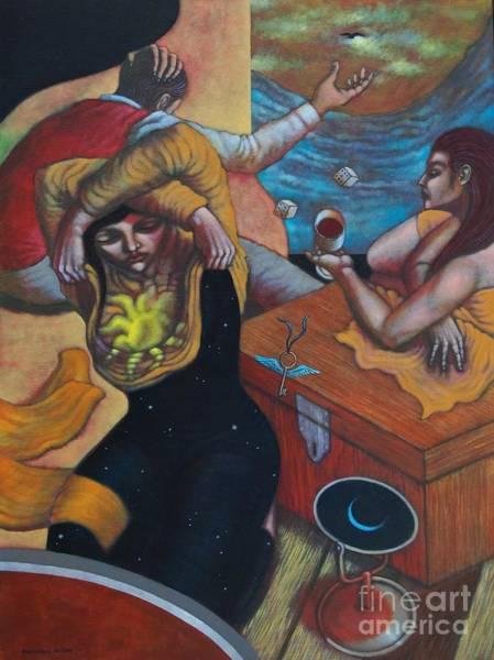 Wall Art - Painting - Takipsilim by Paul Hilario