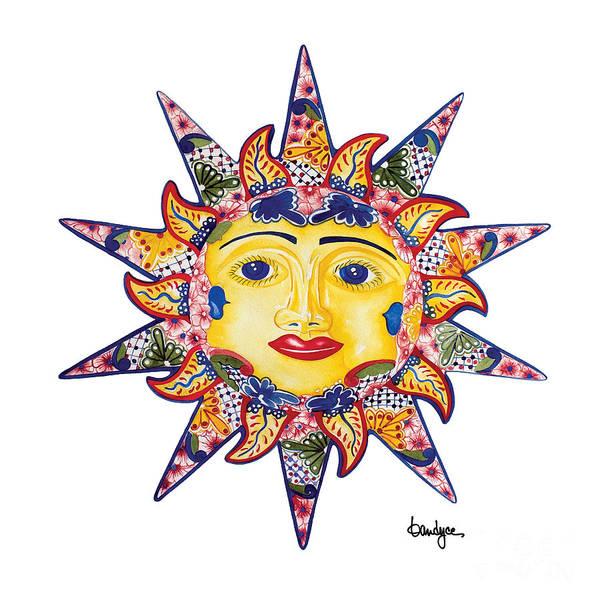 Painting - Talavera Sun by Kandyce Waltensperger