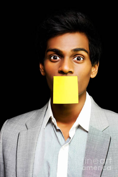 Amuse Photograph - Talkative Forgetful Office Worker by Jorgo Photography - Wall Art Gallery