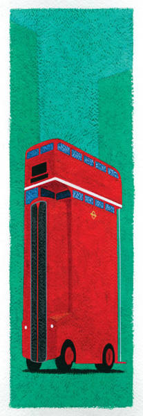 Wall Art - Photograph - Tall Bus by MGL Meiklejohn Graphics Licensing