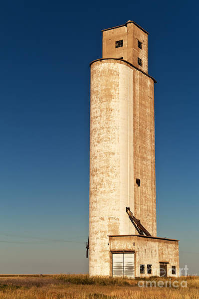 Photograph - Tall Grain Elevator by Sue Smith